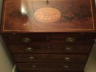 Restored Bureau after fire damage