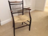 Restored & re-polished Antique Chair.